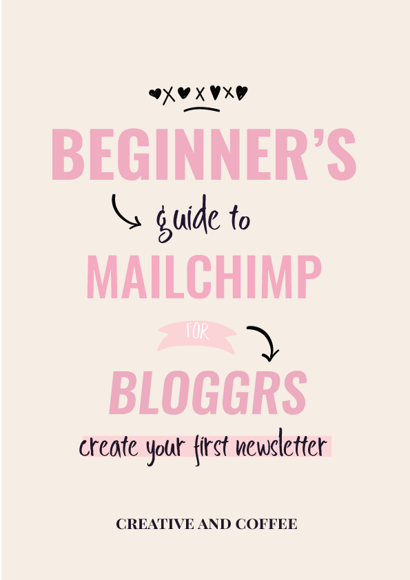 How to send a newsletter; how to use Mailchimp for beginners