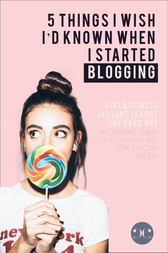 5 Things I Wish That I Had Known When I Started Blogging