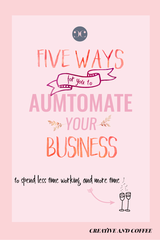 Learn how to use automation in order to save yourself time and also to improve the efficiency of your business