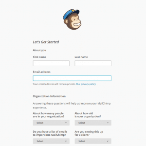 Get Started with MailChimp. Setting up your account.