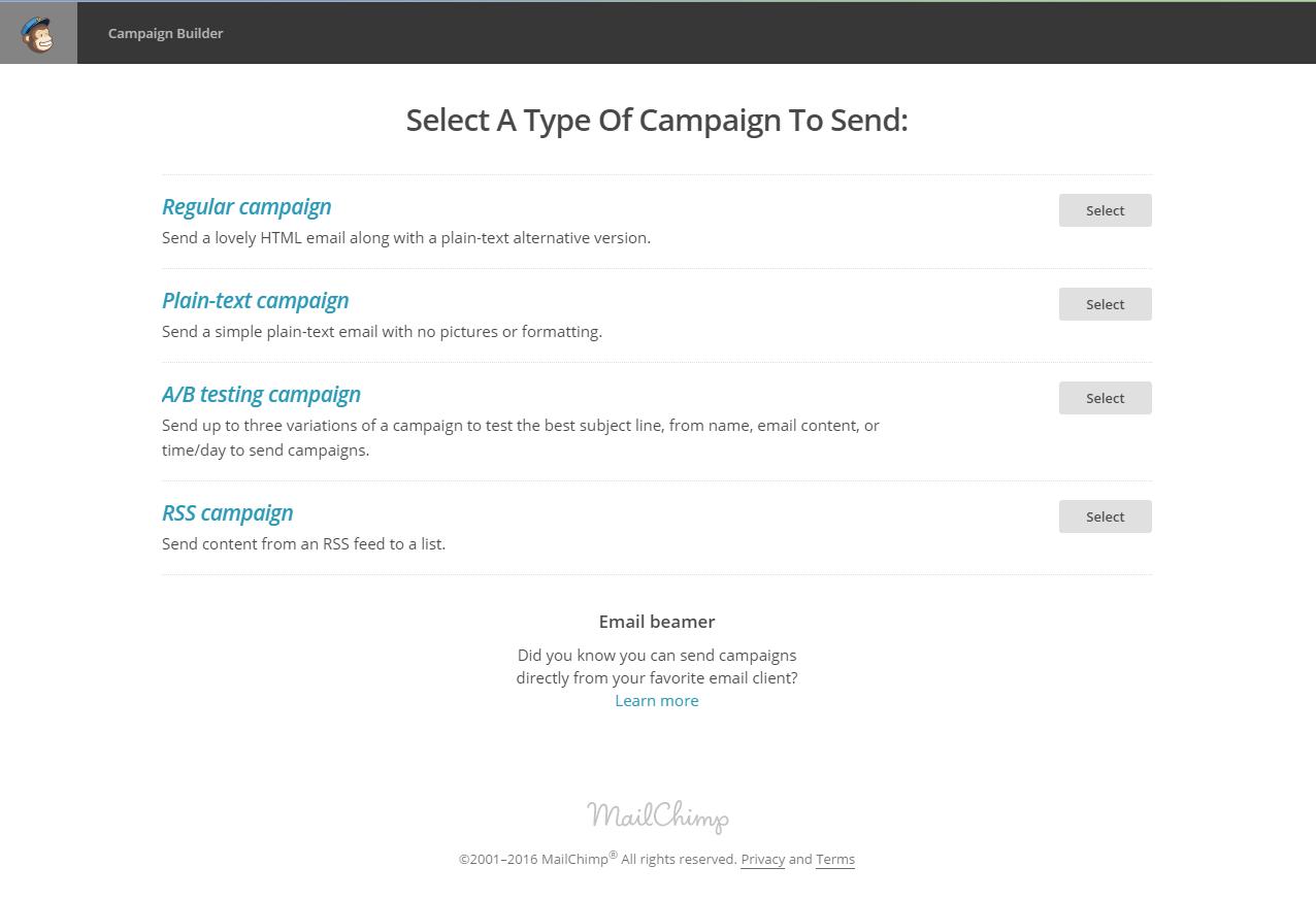 MailChimp Campaigns