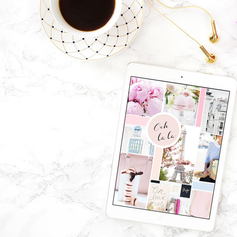 Instagram Interview: FashionyFab Mood Board