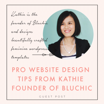 Pro Website Design Tips From Kathie Founder Of Bluchic