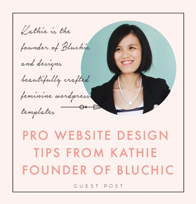 Pro Website Design Tips From Kathie Founder Of Bluchic