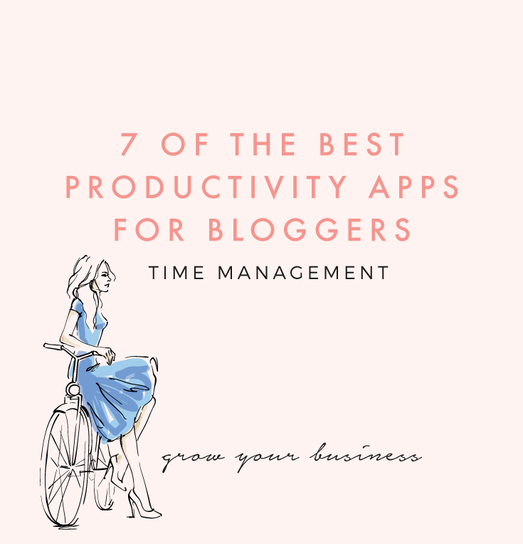 7 OF THE BEST PRODUCTIVITY APPS FOR BLOGGERS