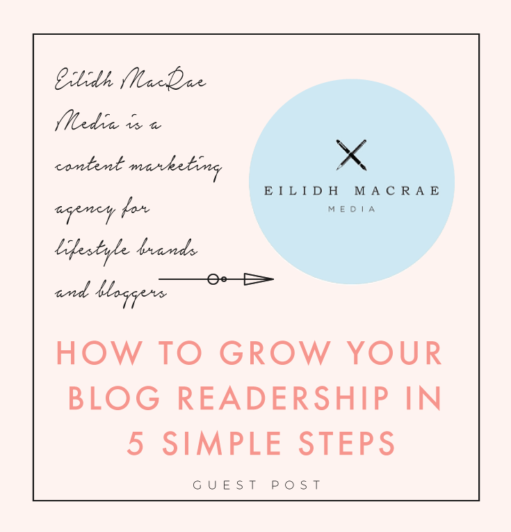 How To Grow Your Blog Readership in 5 Simple Steps | Creative and Coffee