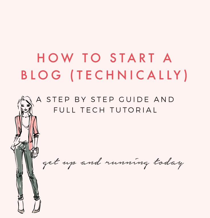 Step By Step Instructions To Start Your First Blog Creative And Coffee