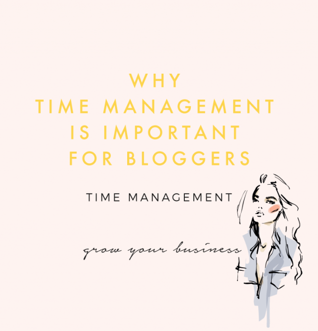 Why Time Management Is Important For Bloggers