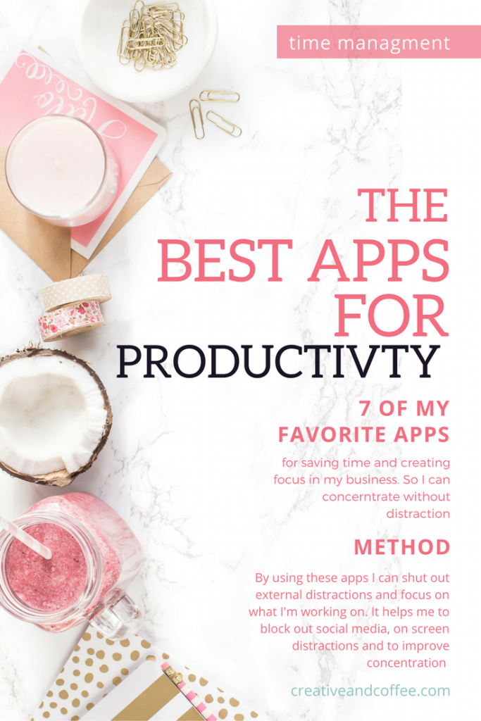 Productivity Apps for Bloggers