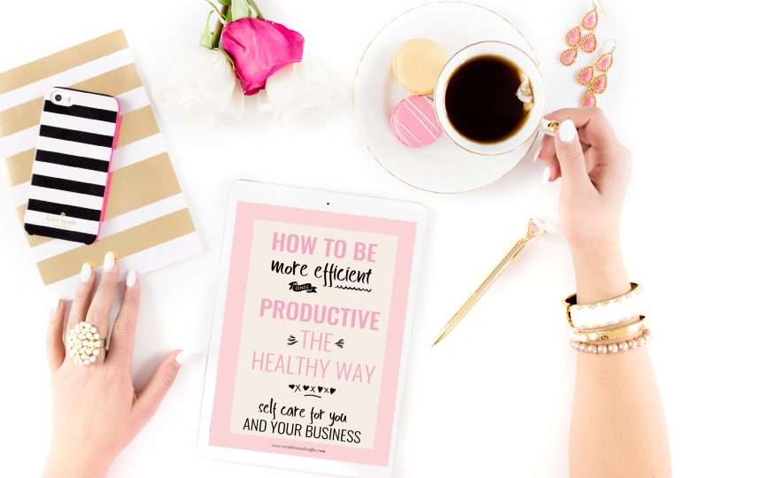 How To Be More Productive In Your Business The Healthy Way