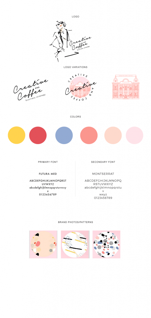 Creative and Coffee Style Guide