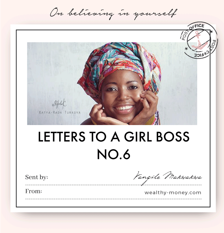 Letter to a Girl Boss No.6