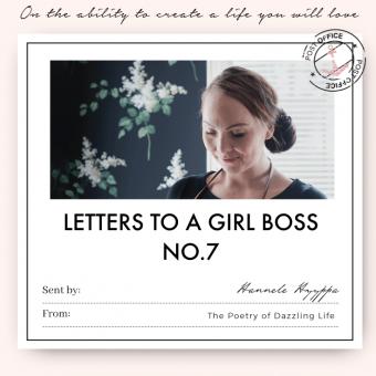 Letter No.7 Hannele Hyyppä