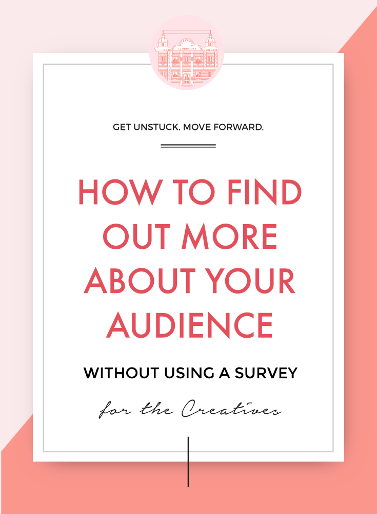Getting to know your audience is often the difference between success and failure - but how do you find out more? Especially is they won't answer a survey?