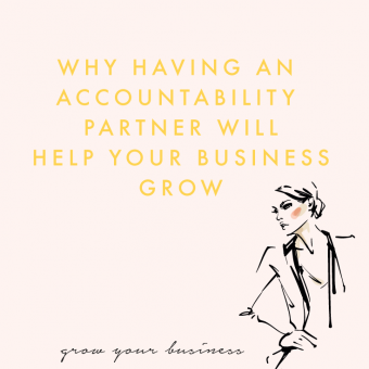 Why having an accountability partner will help grow your business