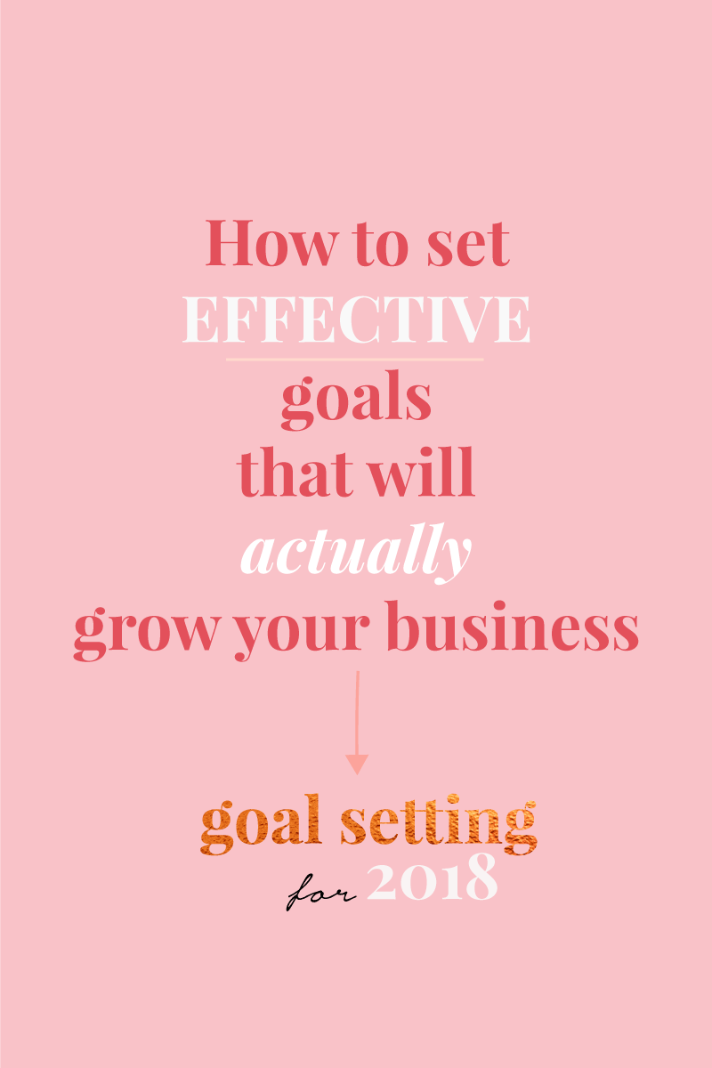 How to set effective goals for your business