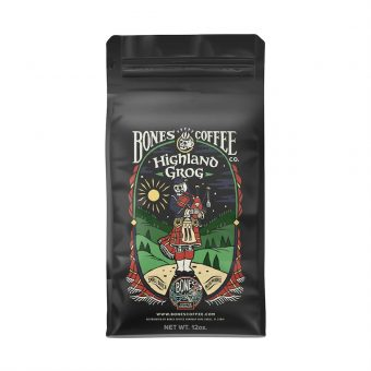 Bones Coffee Company Highland Grog Coffee Beans (Ground Coffee)