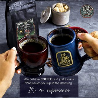 Bones Coffee Company Highland Grog Coffee Beans Experience
