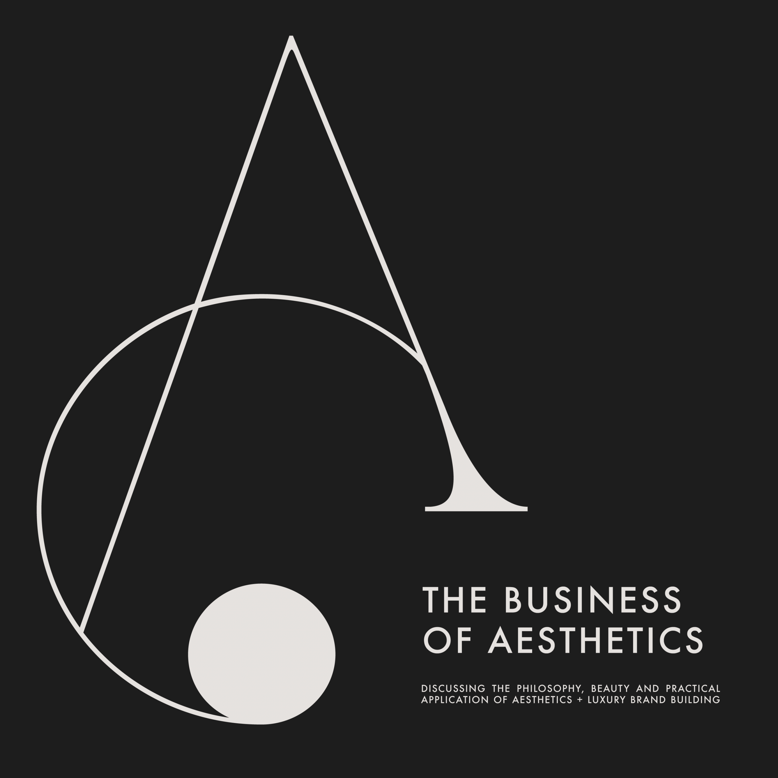 The Business of Asethetics Podcast Cover Light